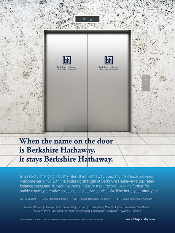 BHSI Ad - 18x24 - Certainty - Financial Strength Door